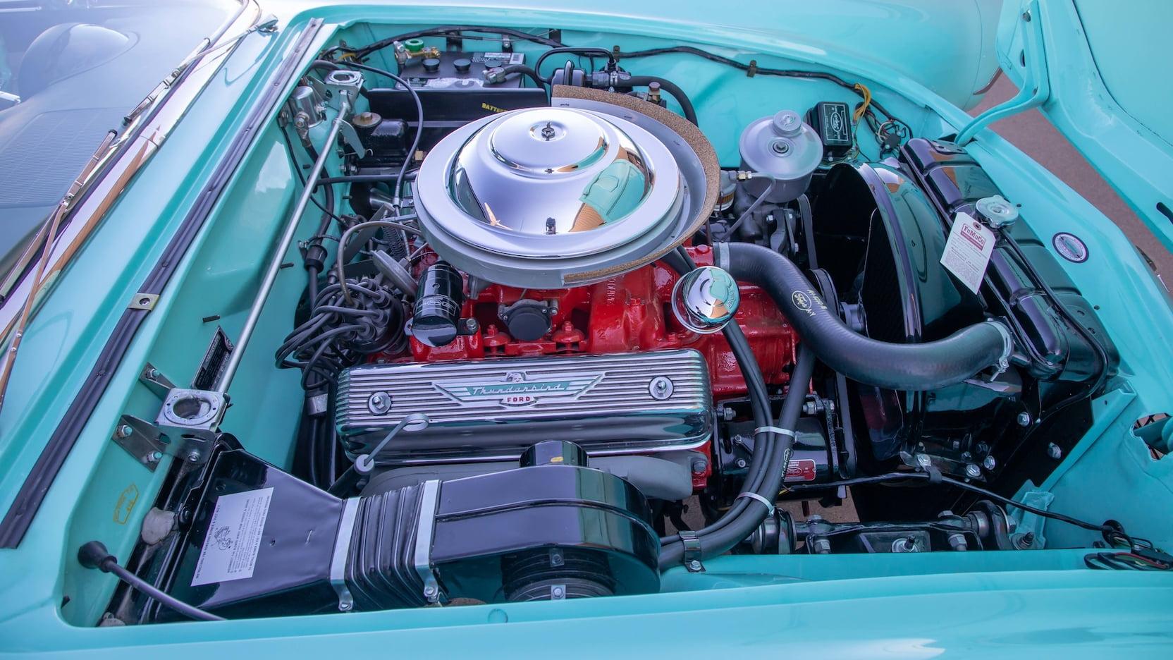 1955 Ford Thunderbird Y-block engine