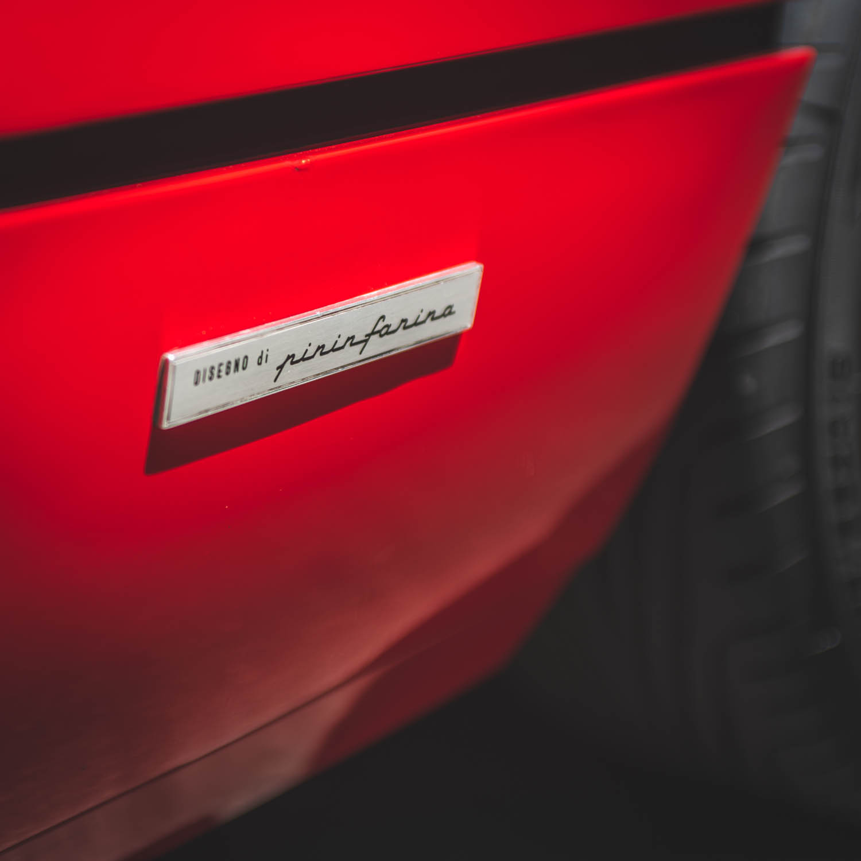 Ferrari 308 Pininfarina badge