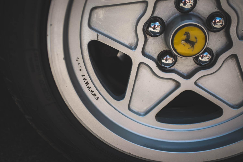 Ferrari 308 wheel detail