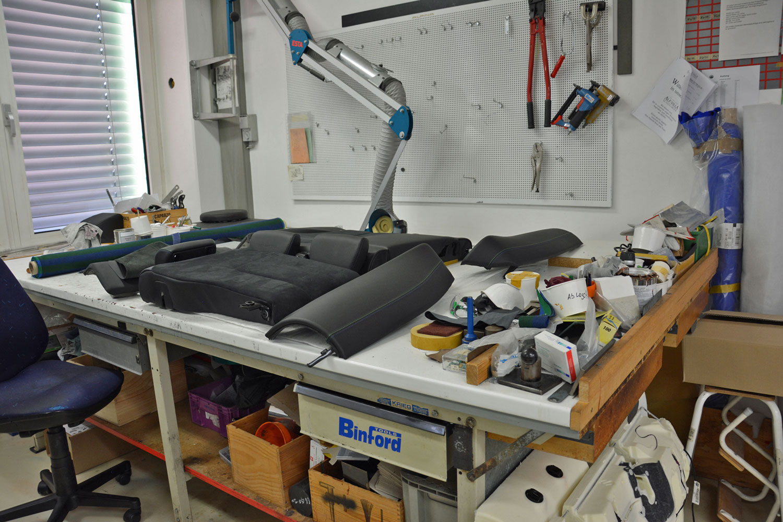 Alpina manufacturing workspace