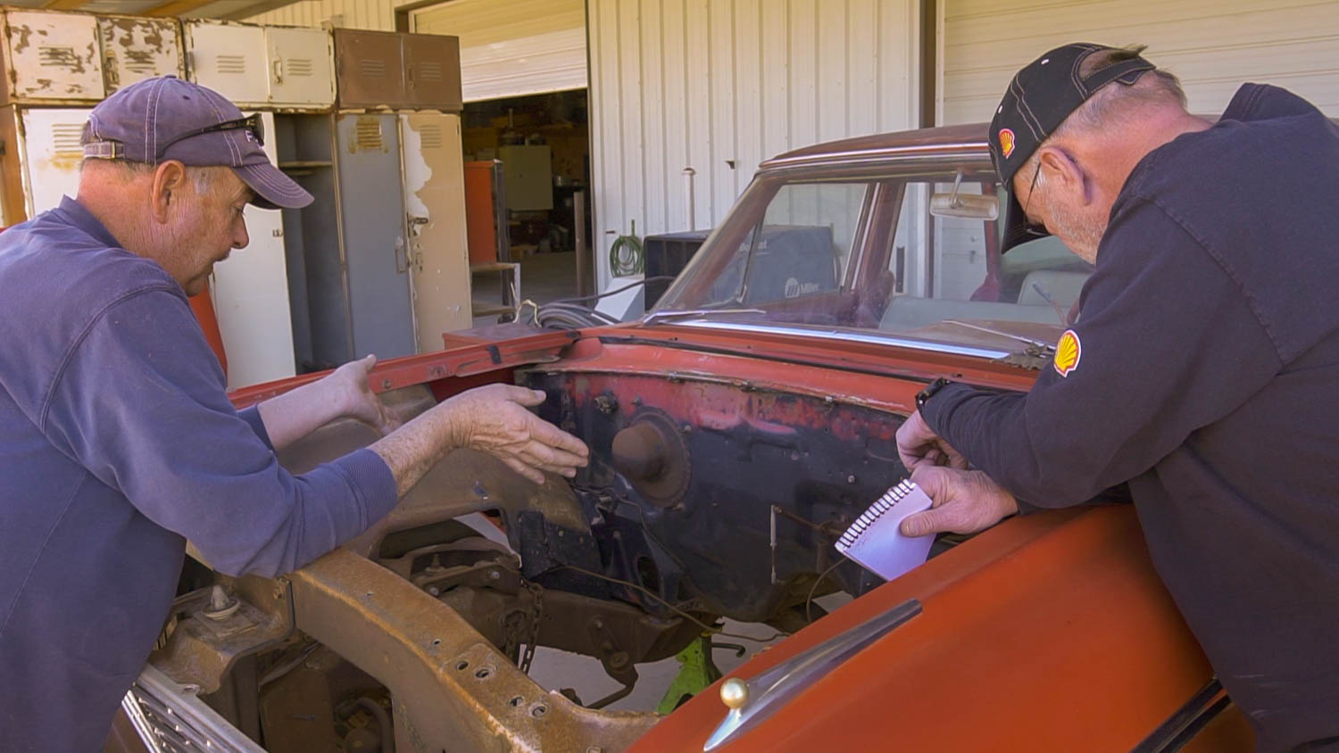 1962 Ford Country Sedan missing engine