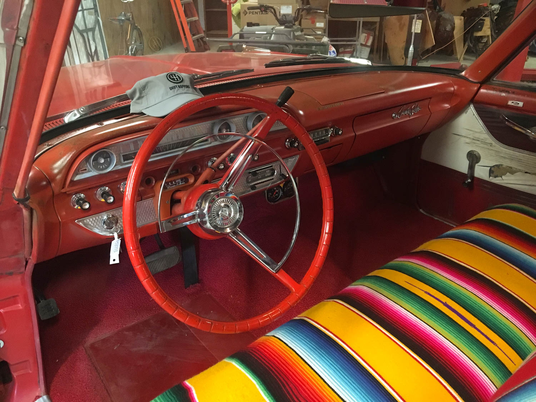 1962 Ford Country Sedan interior