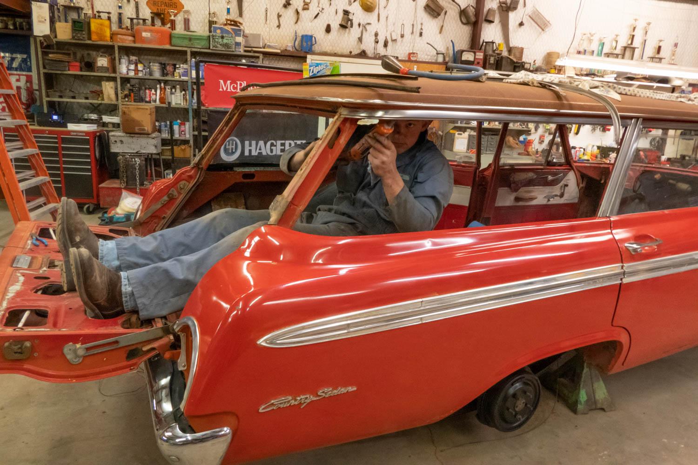 1962 Ford Country Sedan McPherson restoration