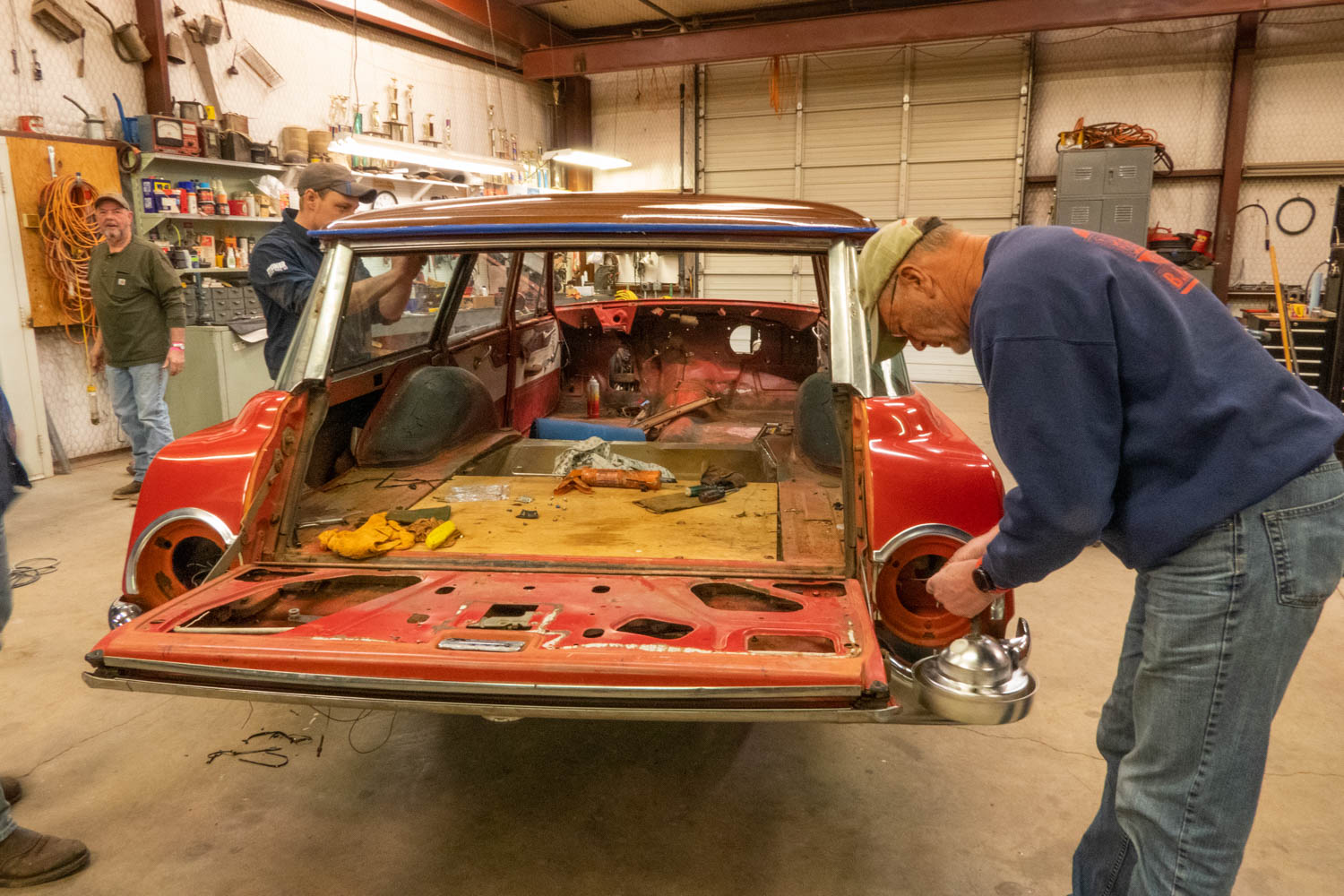 1962 Ford Country Sedan tail light