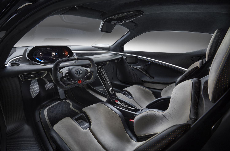 2020 Lotus Evija Interior