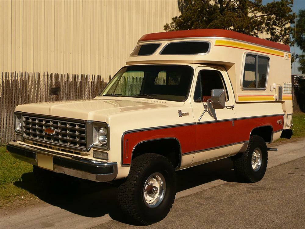 1976 Chevrolet Blazer Chalet
