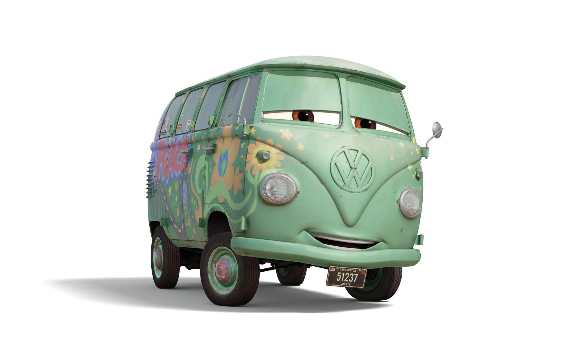 Cars Volkswagen Bus