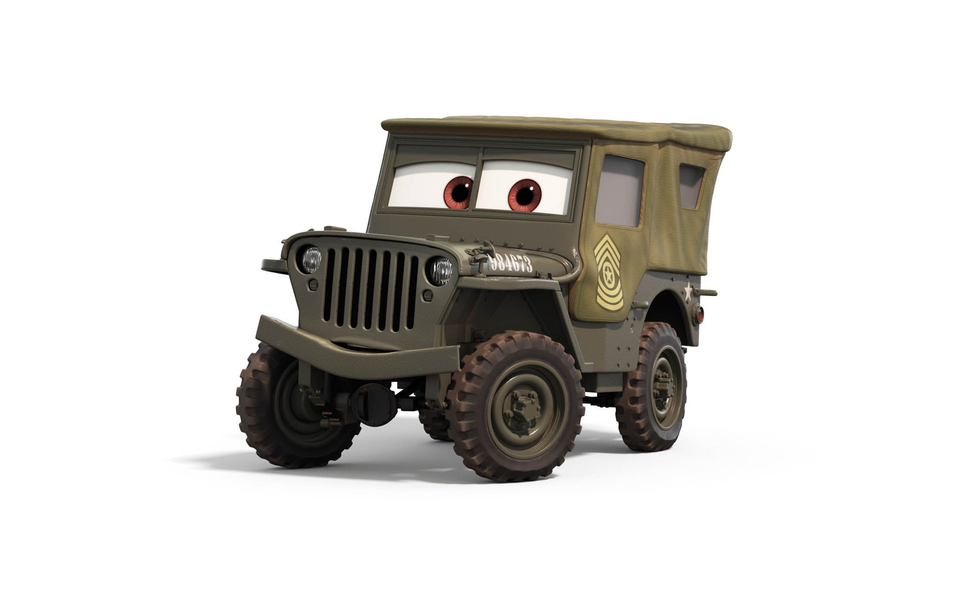 "Willys MB 'Jeep"" from Cars"
