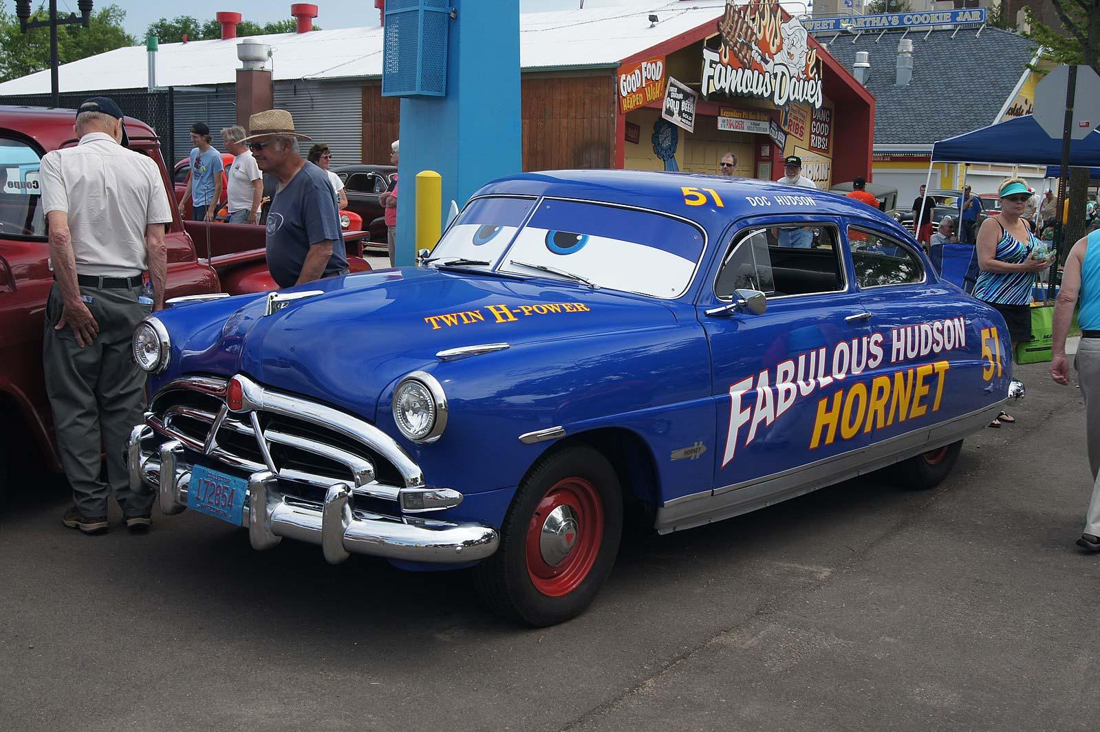 Doc Hudson — 1951 Hudson Hornet