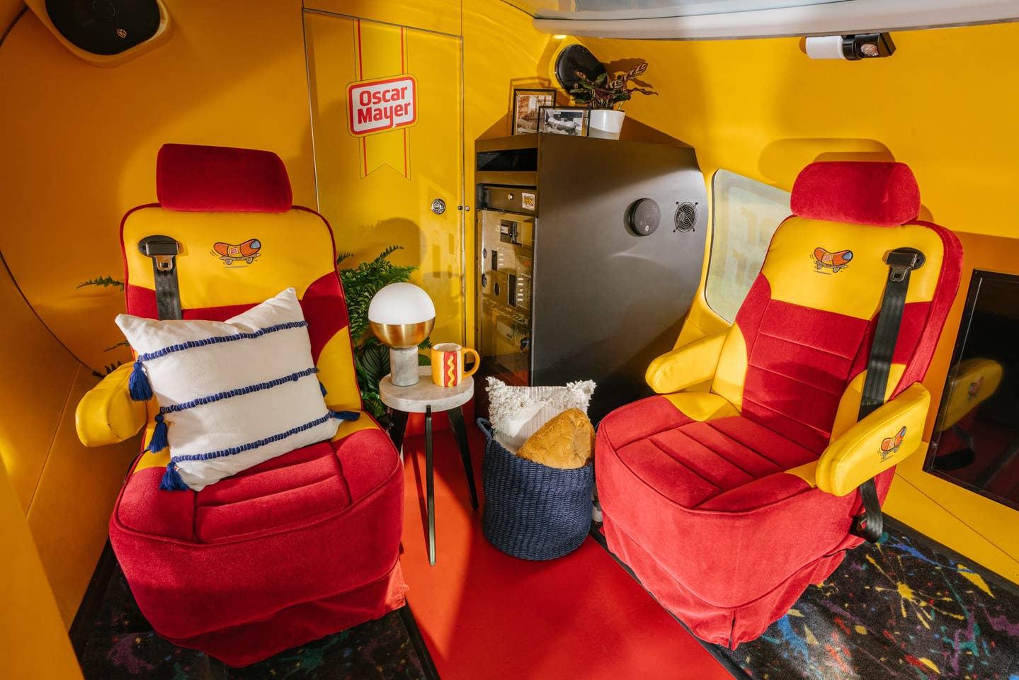 Oscar Mayer Wienermobile Interior