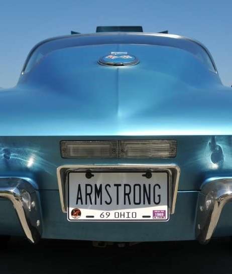 Neil Armstrong's 1967 Corvette