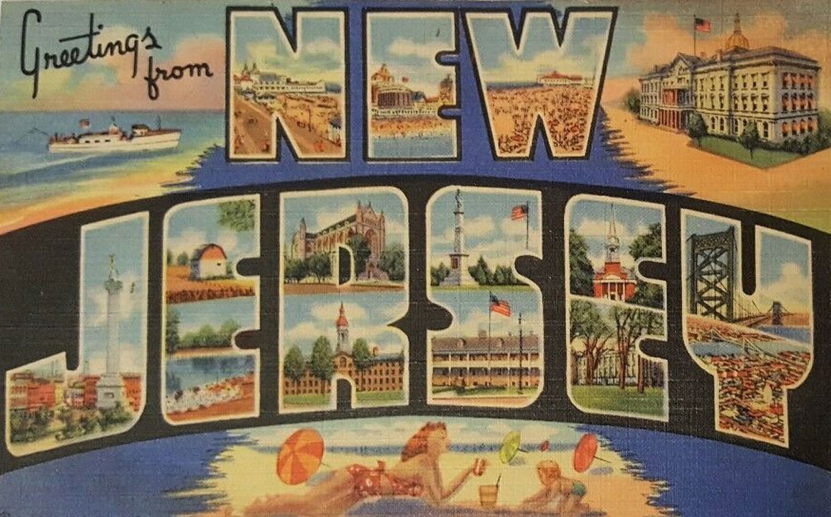New Jersey State Banner