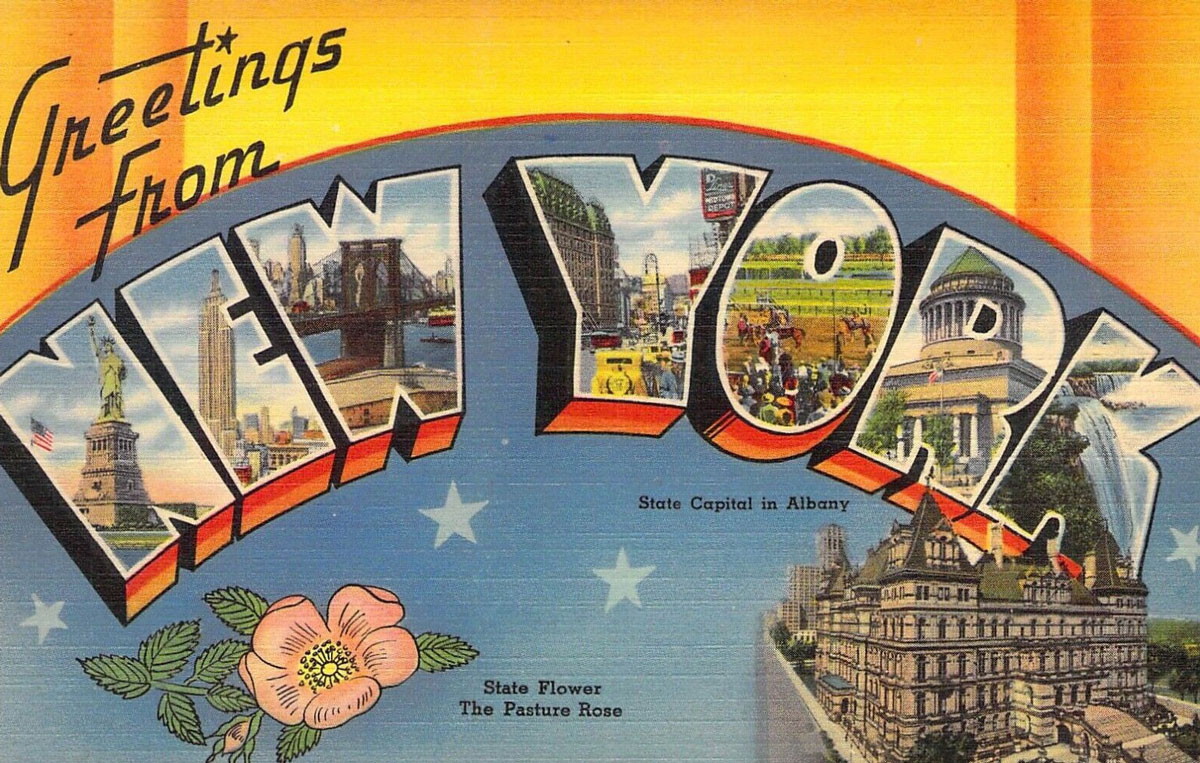 New York State Banner