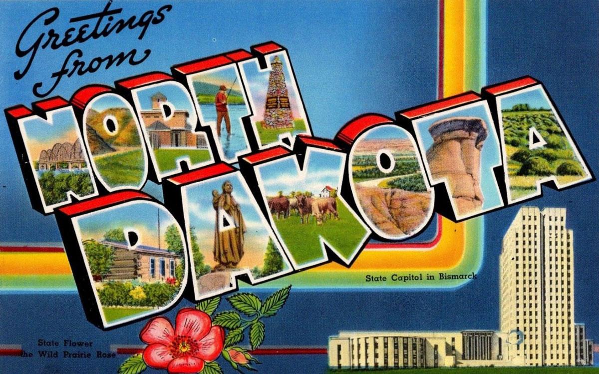 North Dakota State Banner