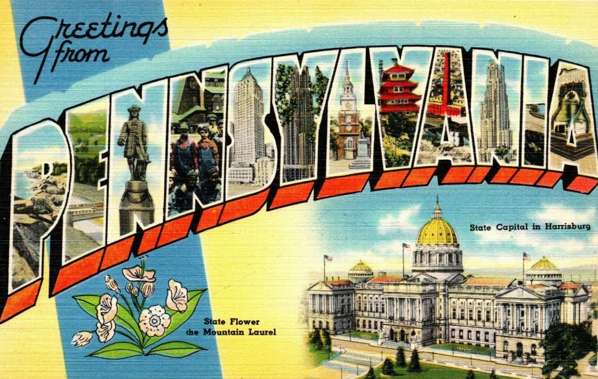 Pennsylvania State Banner