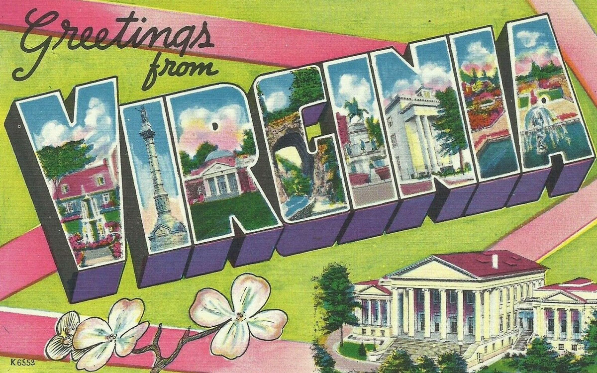 Virginia State Banner