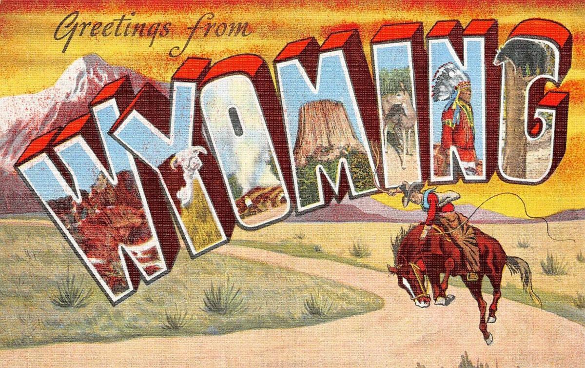 Wyoming State Banner