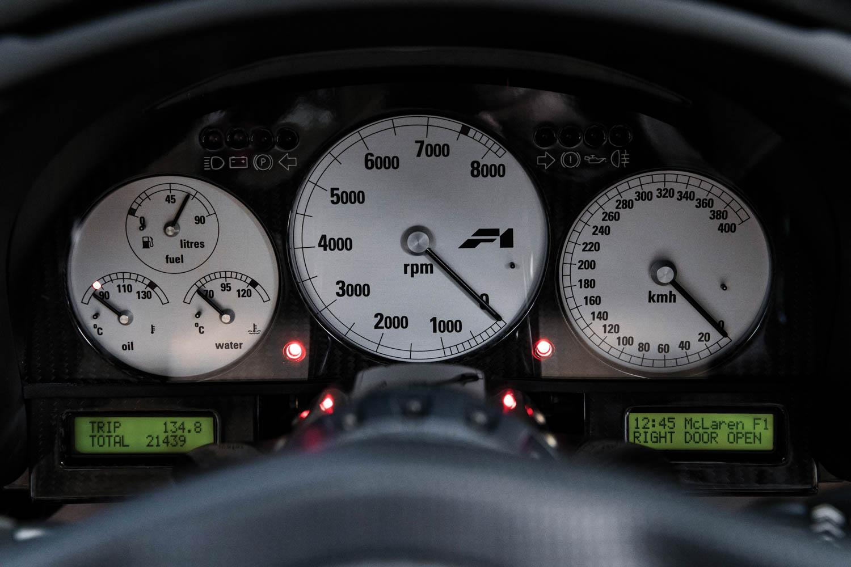 1994 McLaren F1 'LM-Specification' gauges