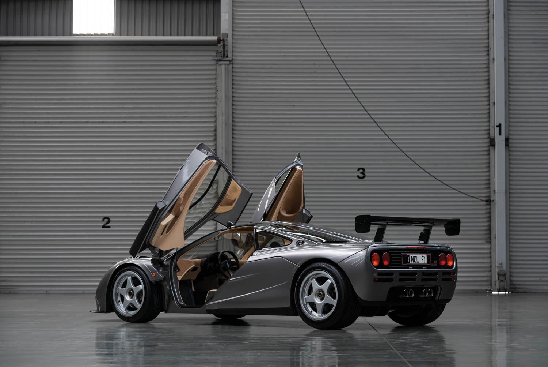 1994 McLaren F1 'LM-Specification' rear 3/4 doors up