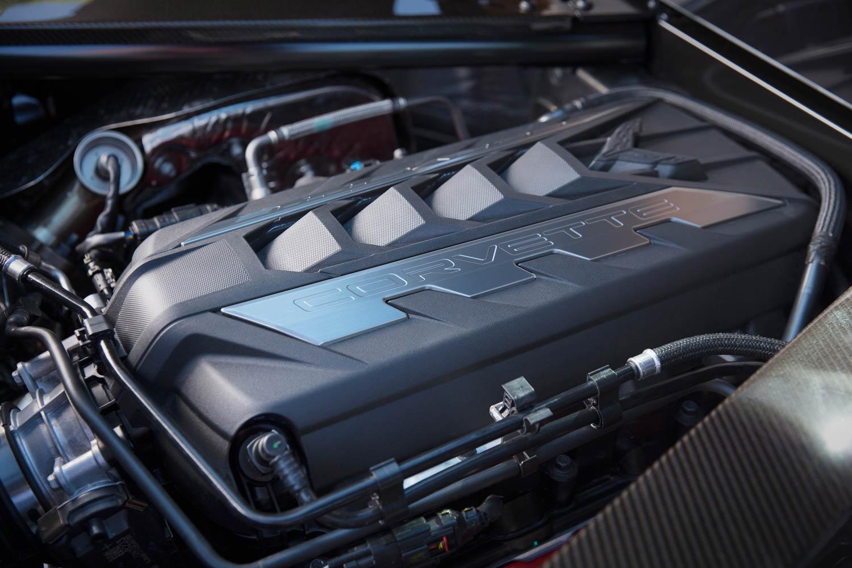 2020 Chevrolet Corvette Stingray LT2 engine
