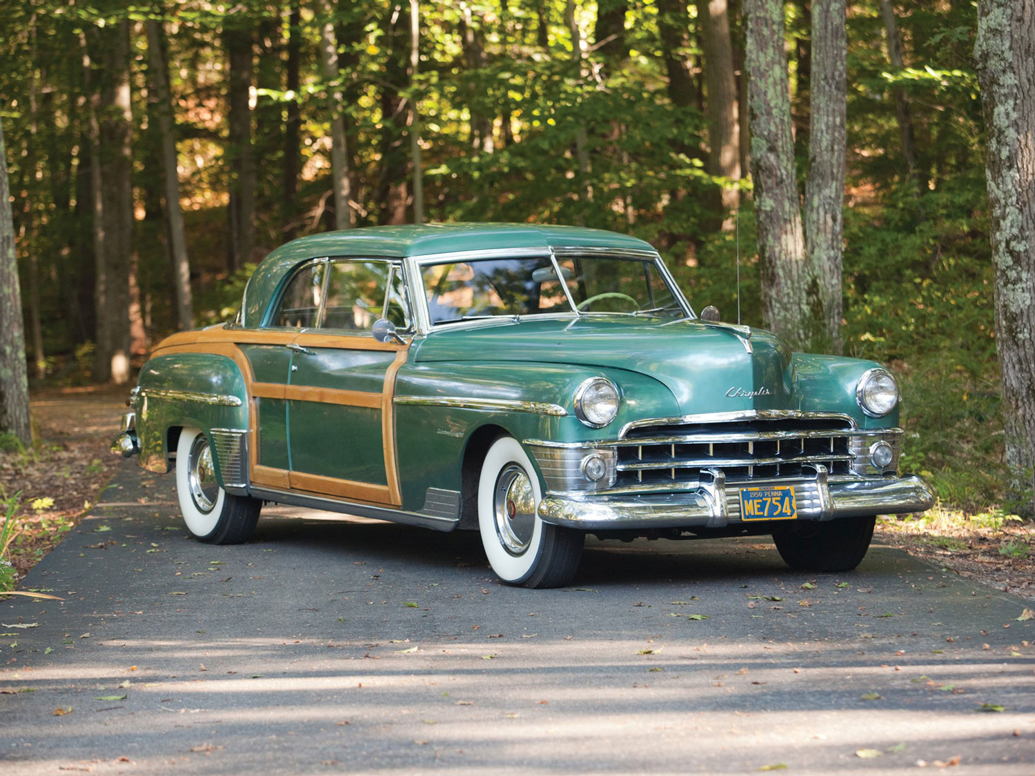 1950 Chrysler Town and Country Newport Coupe