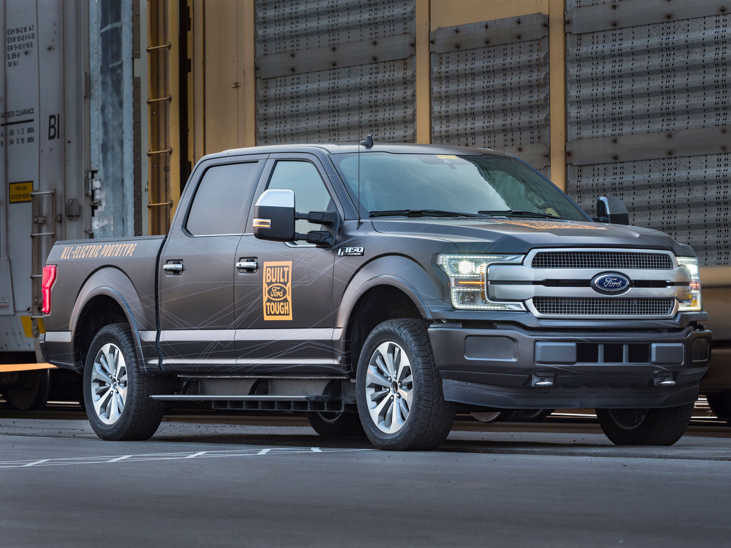 All-Electric F-150 Prototype