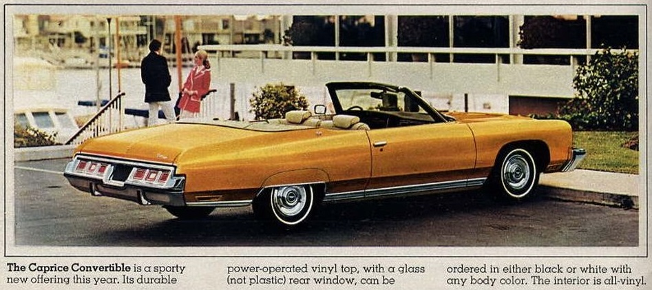 1974 Chevrolet Caprice ad