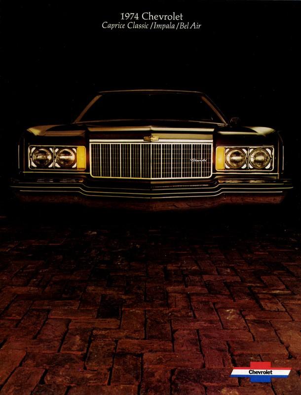 1974 Chevrolet Caprice advertisement