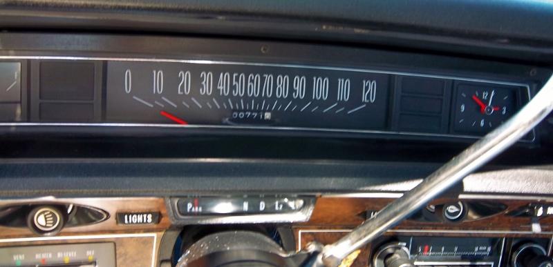 1974 Chevrolet Caprice gauge