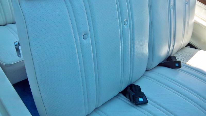 1974 Chevrolet Caprice seat detail