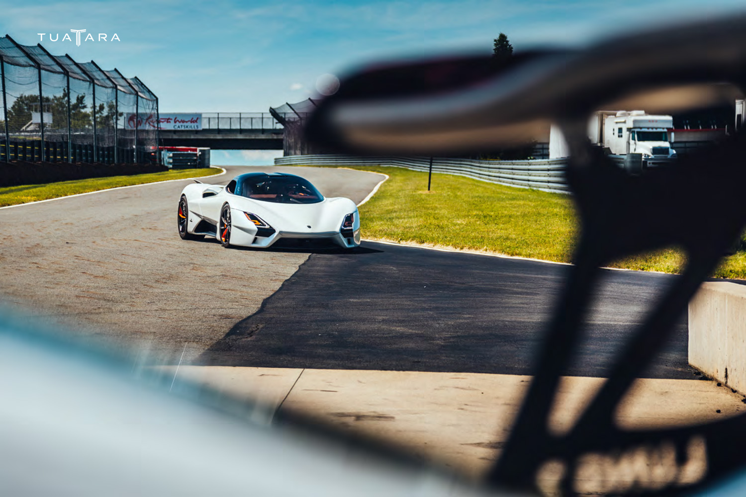 2020 SSC Tuatara on the track
