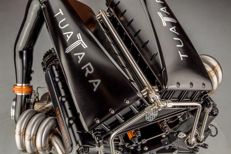 2020 SSC Tuatara engine