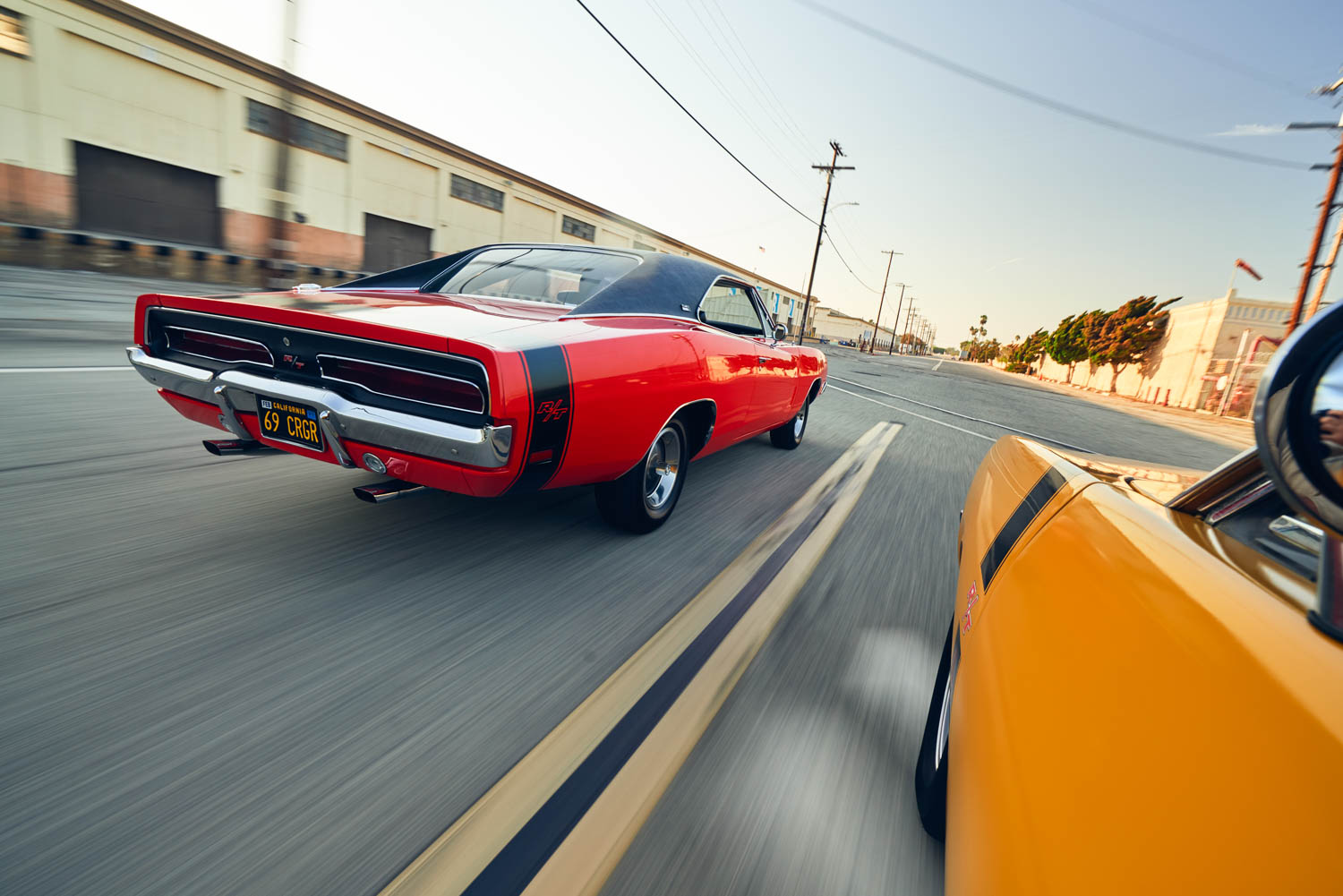 The American Charger became an instant film and television star, starting with Steve McQueen's 1968 cops-and-burnouts thriller, Bullitt. The Aussie Charger appeared in a few local TV shows you've likely never heard of, plus as an extra in various Mad Max films.
