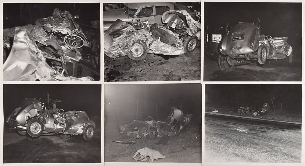 James Dean Car Crash