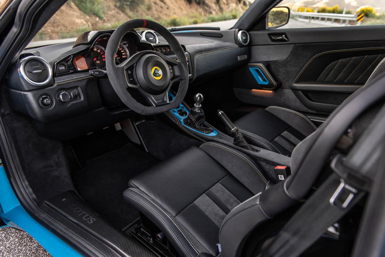 2020 Lotus Evora GT interior