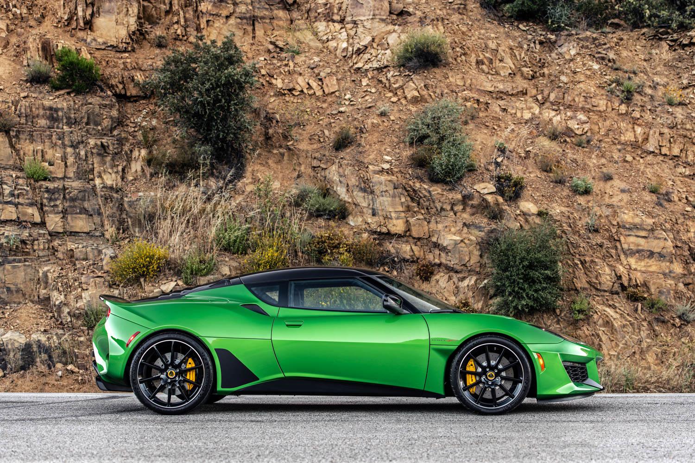 2020 Lotus Evora GT profile