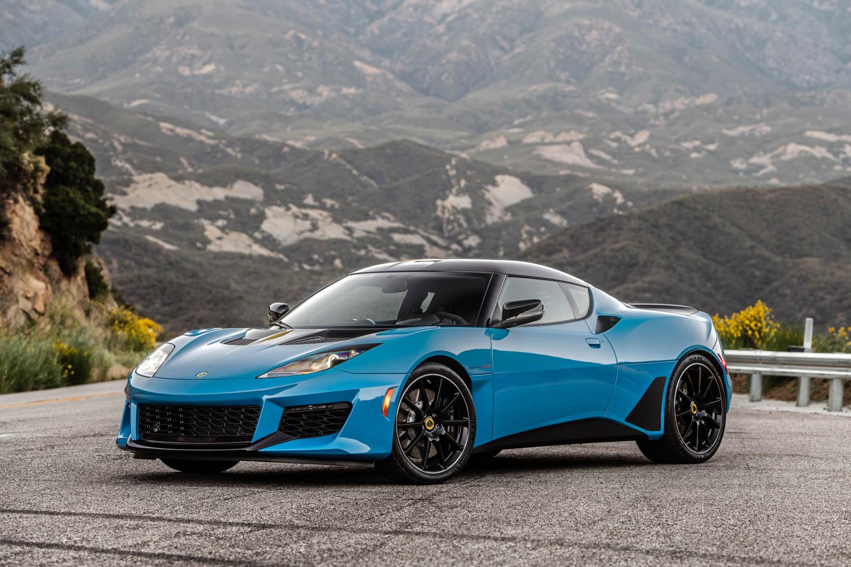 Blue 2020 Lotus Evora GT