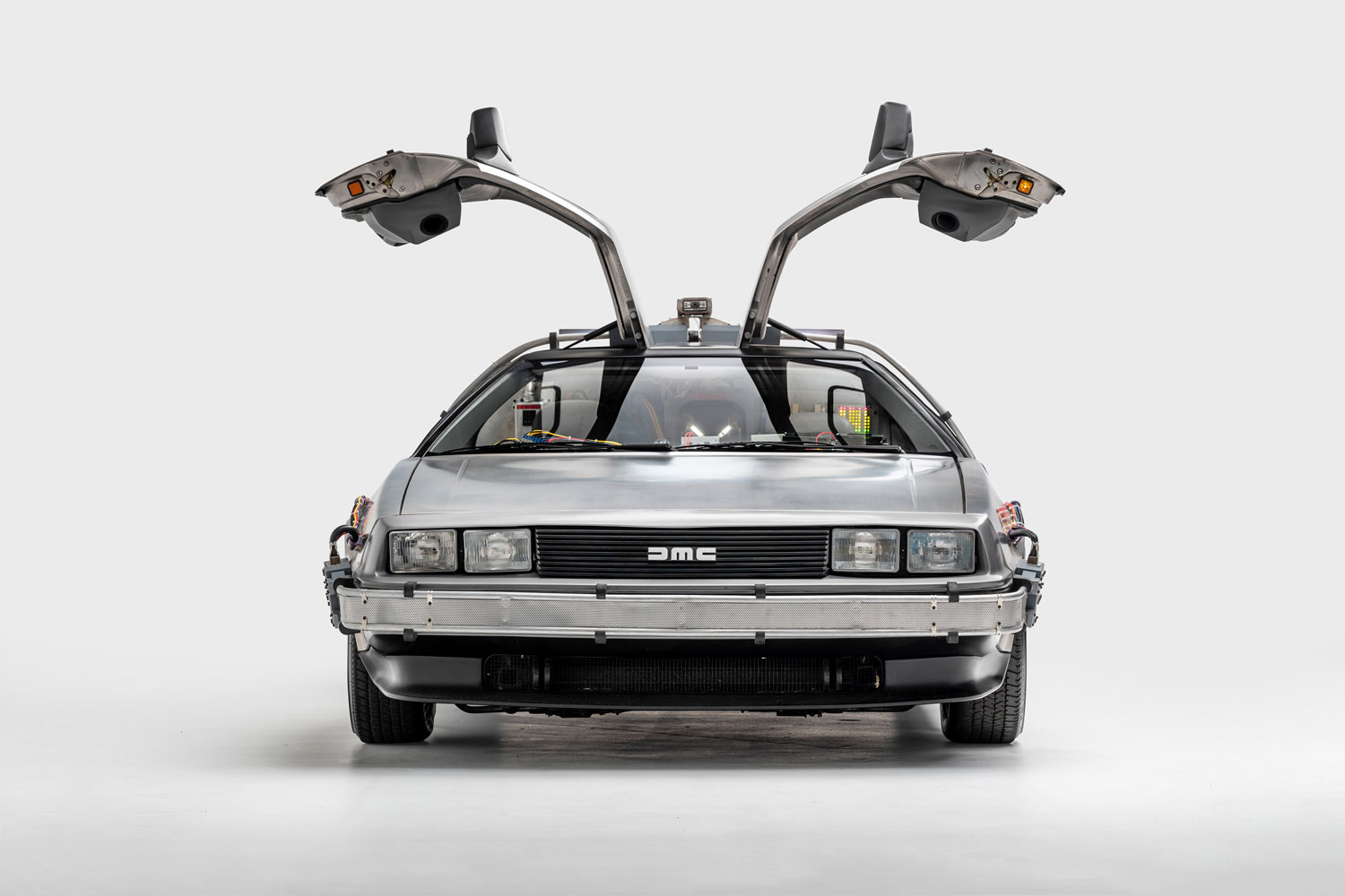 """1981 DeLorean """"Time Machine"""" from Back to the Future"""