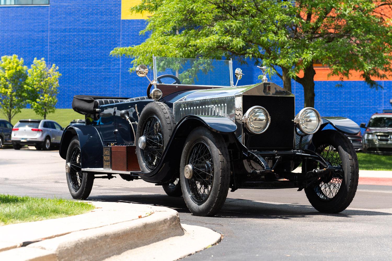 1920 Rolls Royce British Silver Tourer