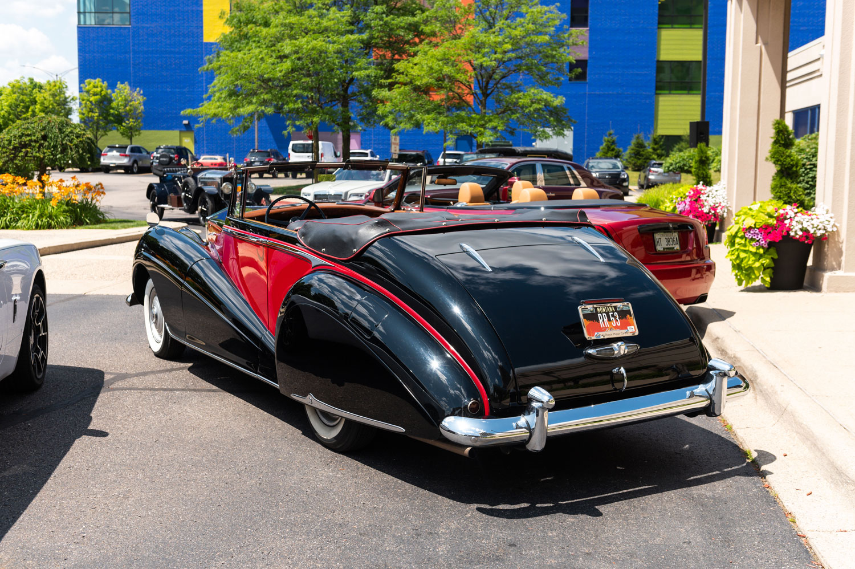 1953 Rolls Royce Silver Dawn Drophead
