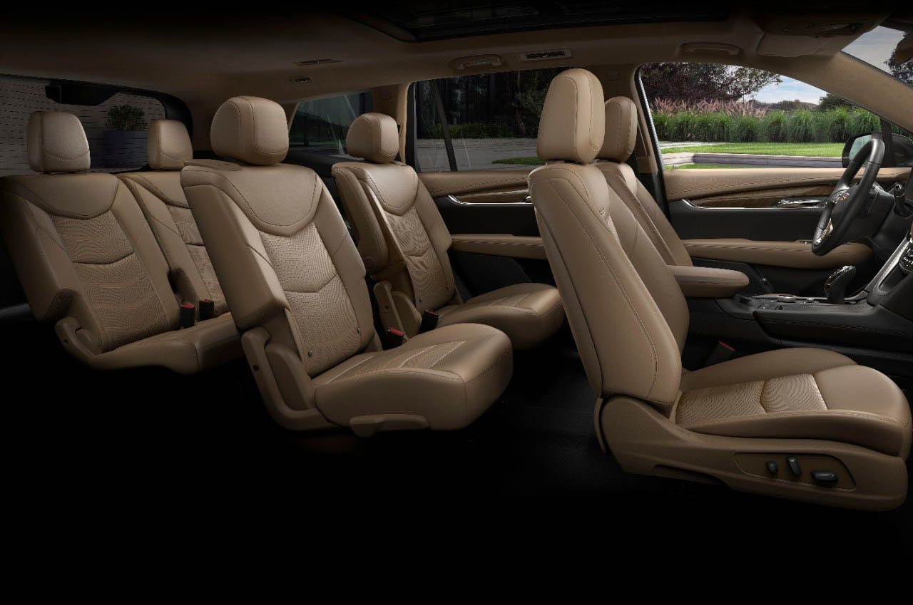 2020 Cadillac XT6 third row seating