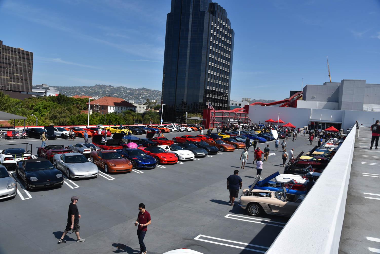 Corvettes at the petersen