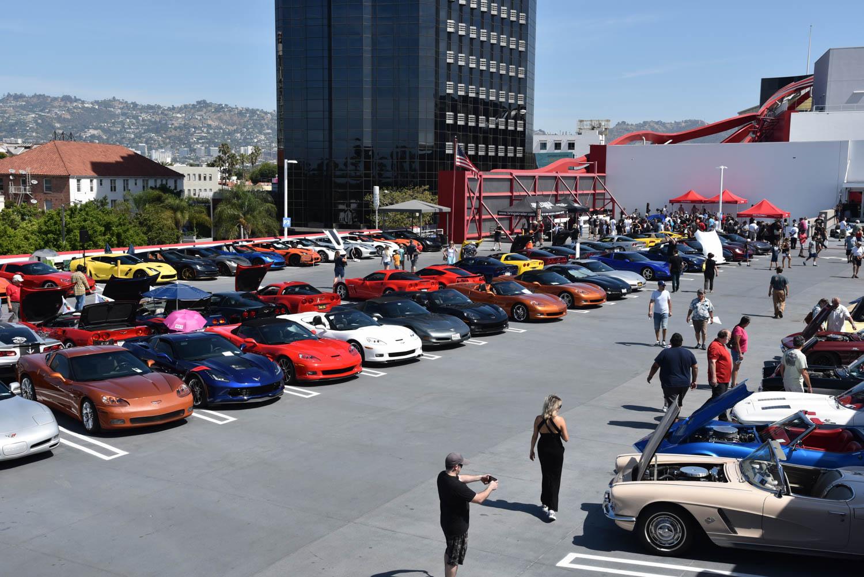 Corvette car show