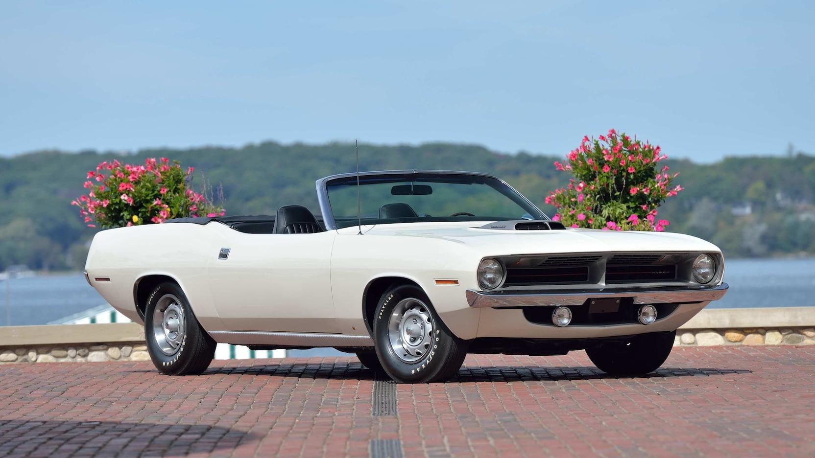 1970 Plymouth Cuda Convertible Pilot Car