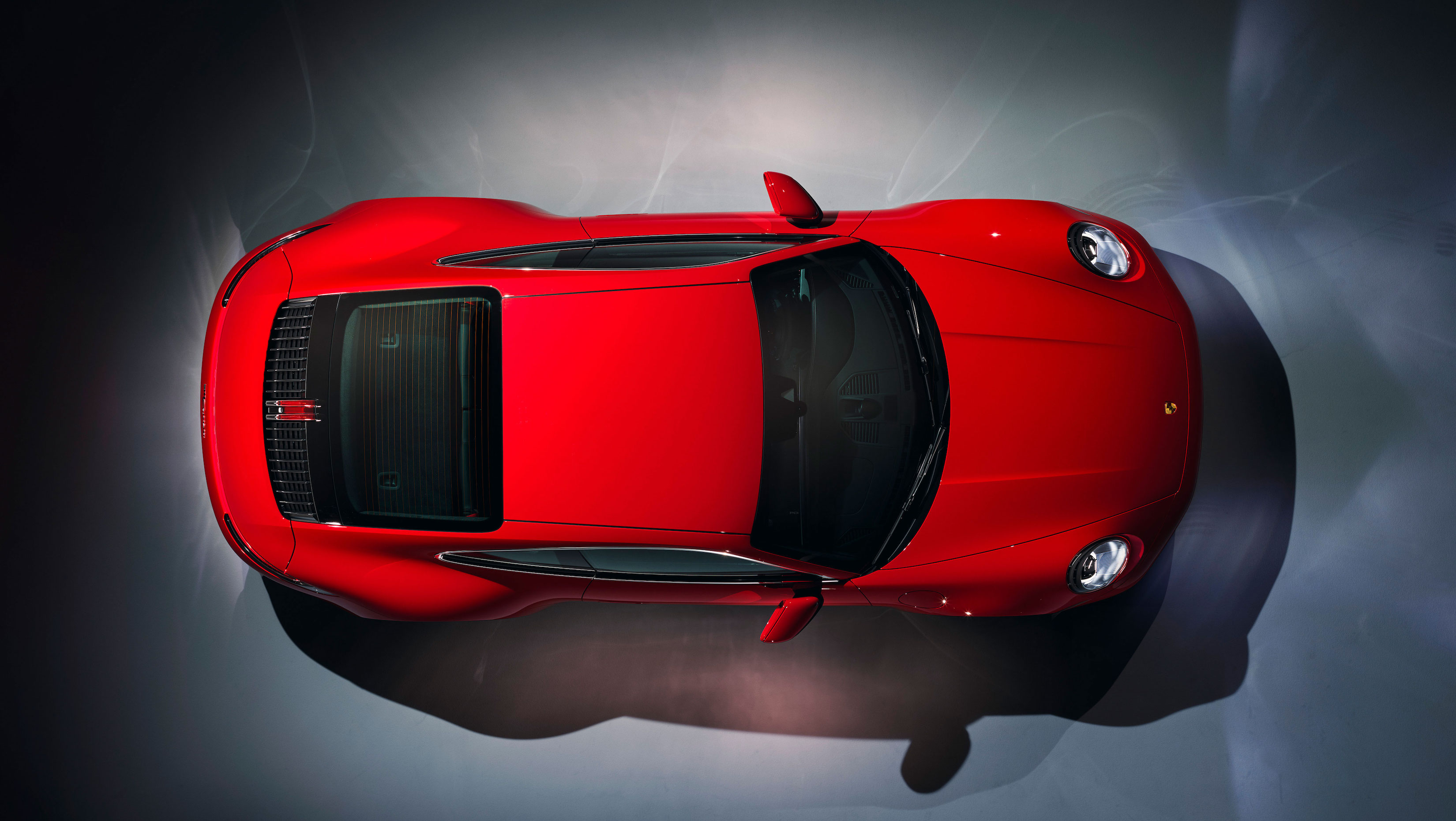 Porsche 911 Carrera overhead