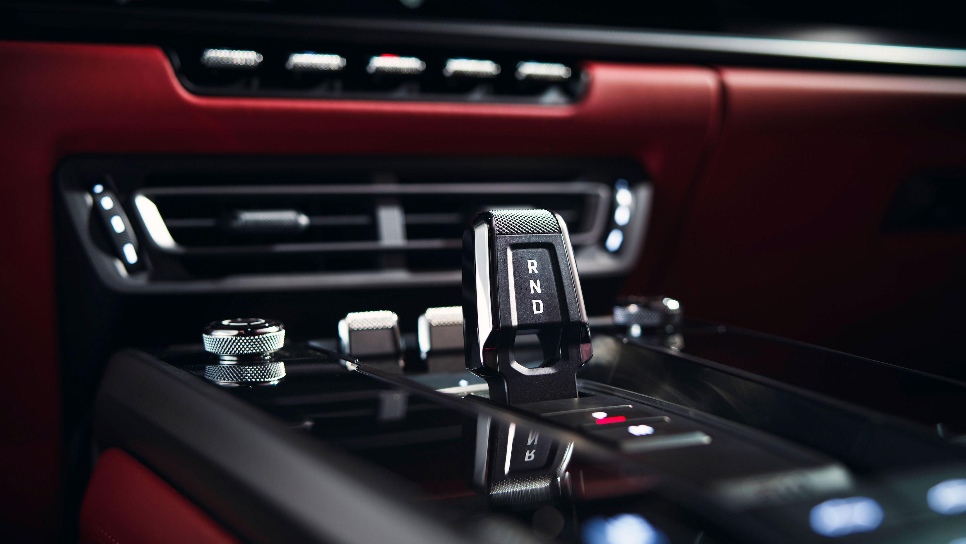 Porsche 911 Carrera buttons