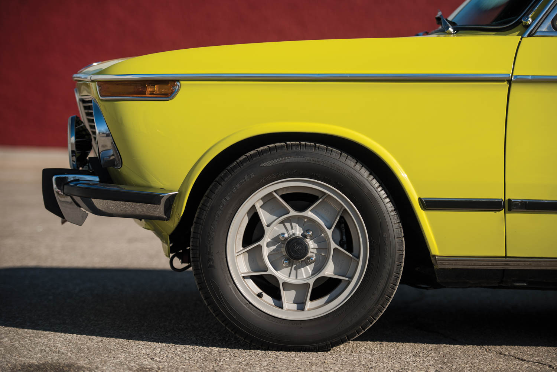 1972 BMW 2002 front quarter
