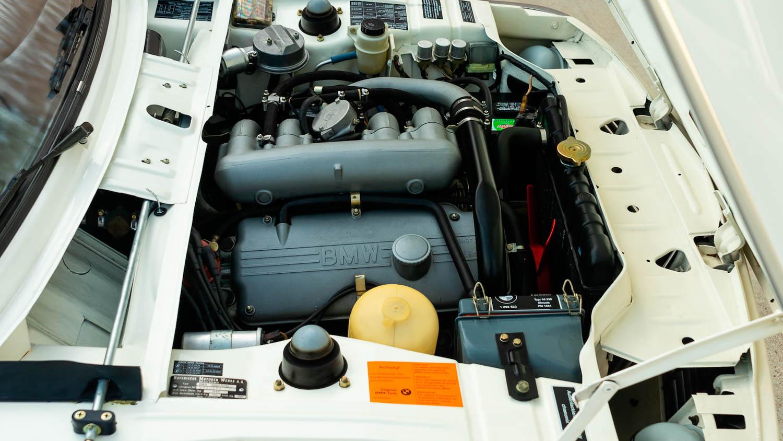 1974 BMW 2002 Turbo engine