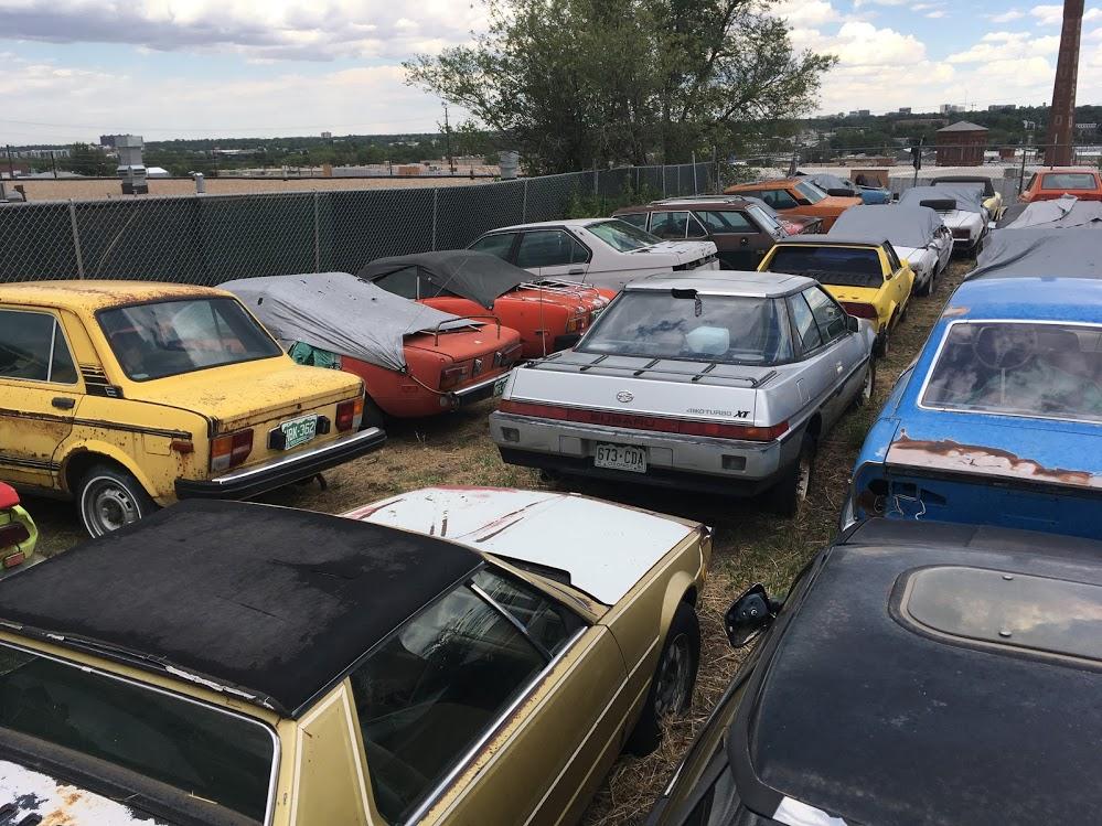 Fiat junkyard group shot