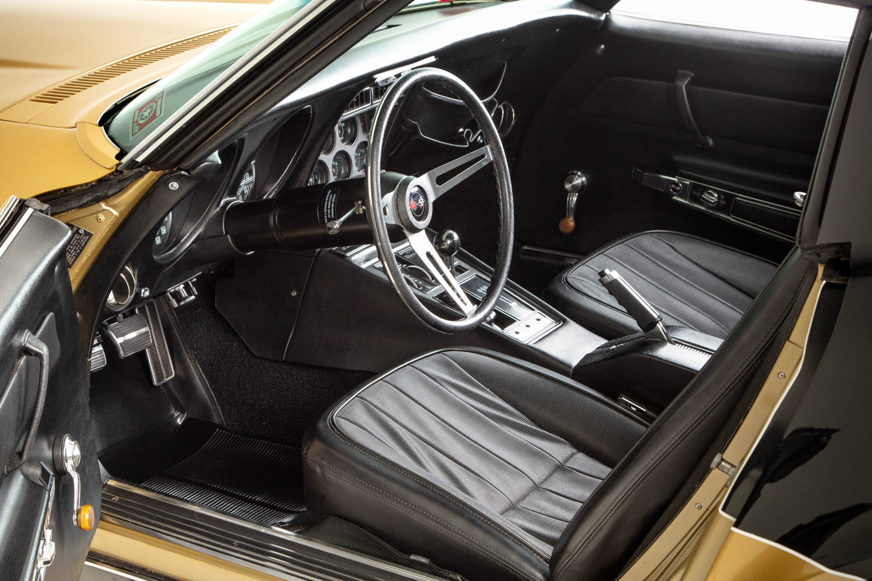 HVA Corvette interior